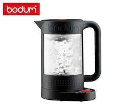 Bodum 1.1L Bistro Double Wall Electric Water Kettle - Black