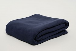 Thermalux Fleece Blanket - Navy