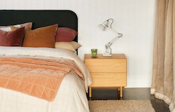 Compound Bedside Cabinet - Natural Oak